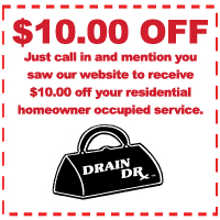 The Drain Doctor Coupon Dallas TX